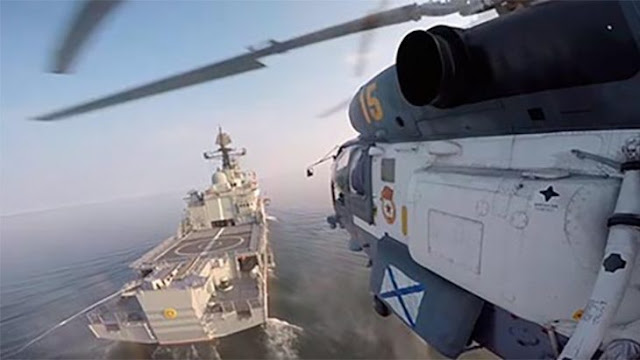 Todo el poder de la Flota del Mar Báltico en un video