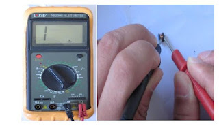 Magnetic rod inductor insulation test