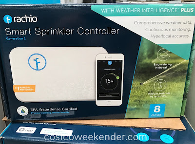 Keep your lawn lush and healthy with the Rachio Smart Sprinkler Controller