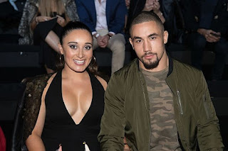 Robert Whittaker With Wife