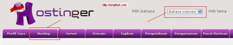 Link+menu+hosting;