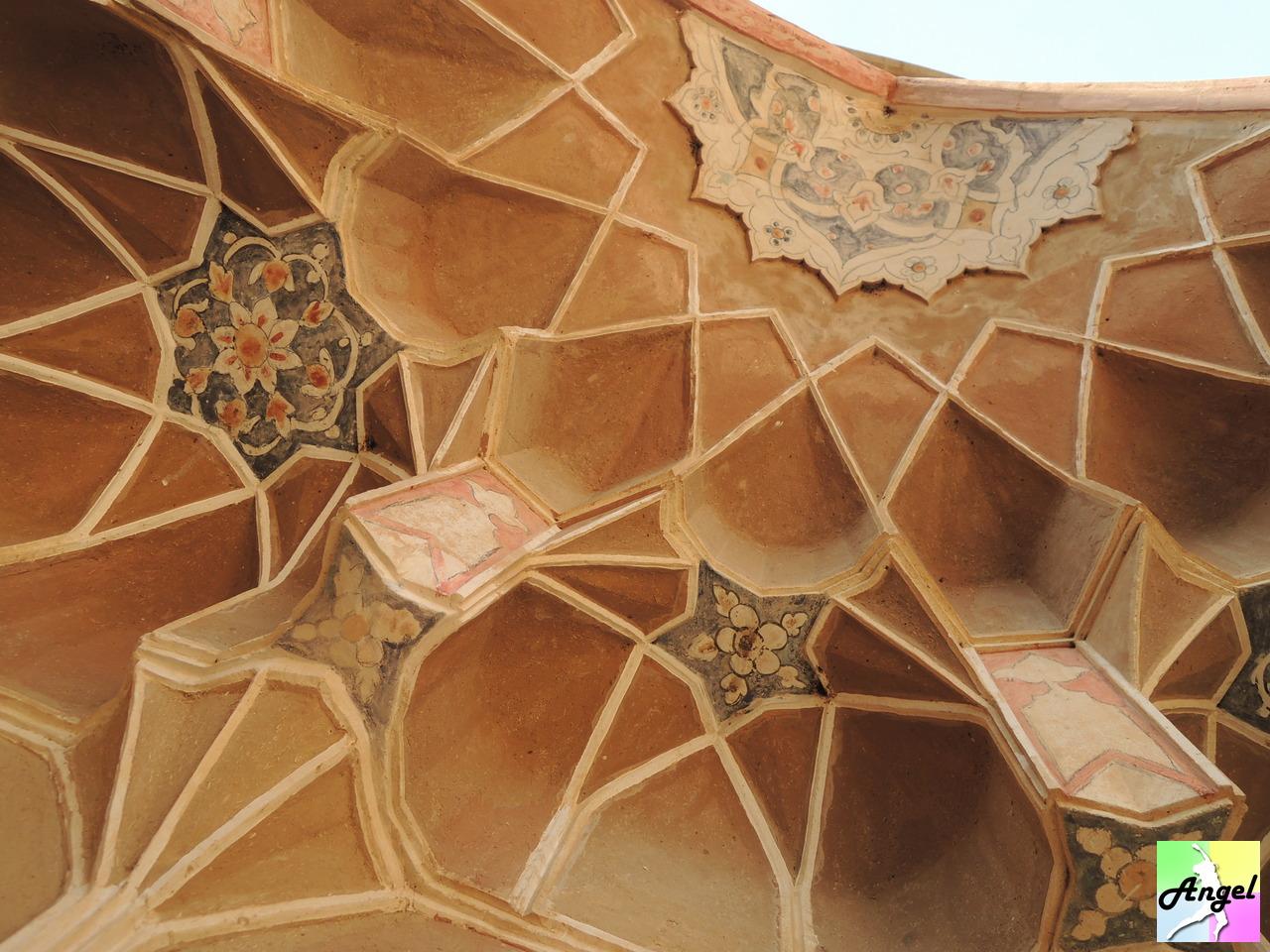 abbasian house ceiling kashan iran