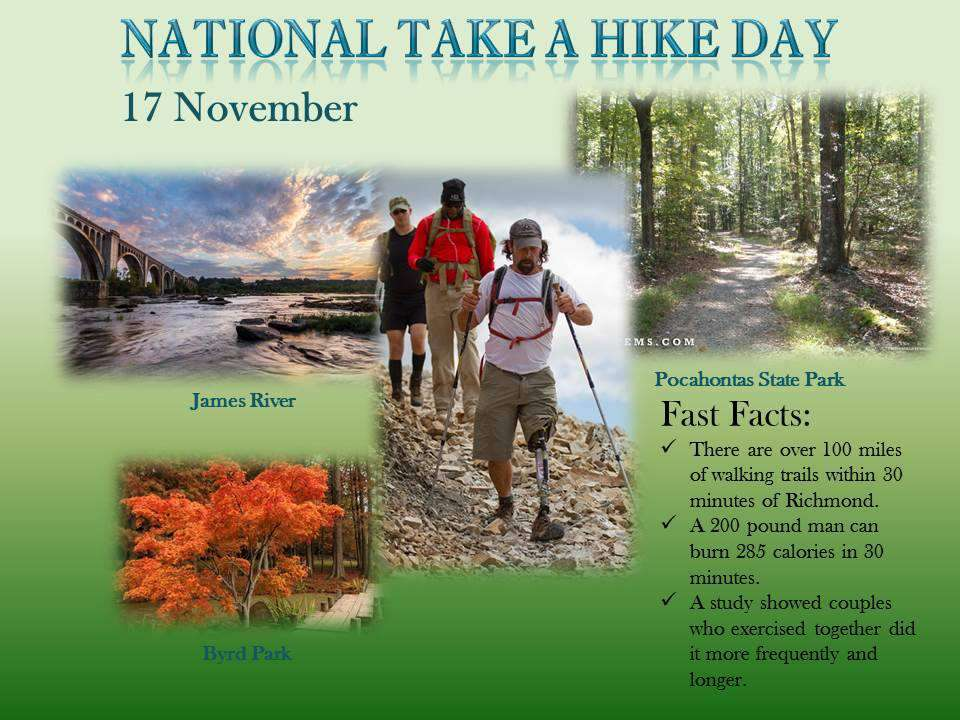National Take a Hike Day Wishes Photos