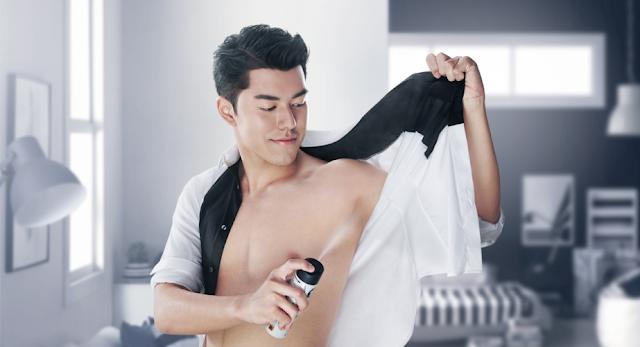 Pentingnya deodoran bagi pria