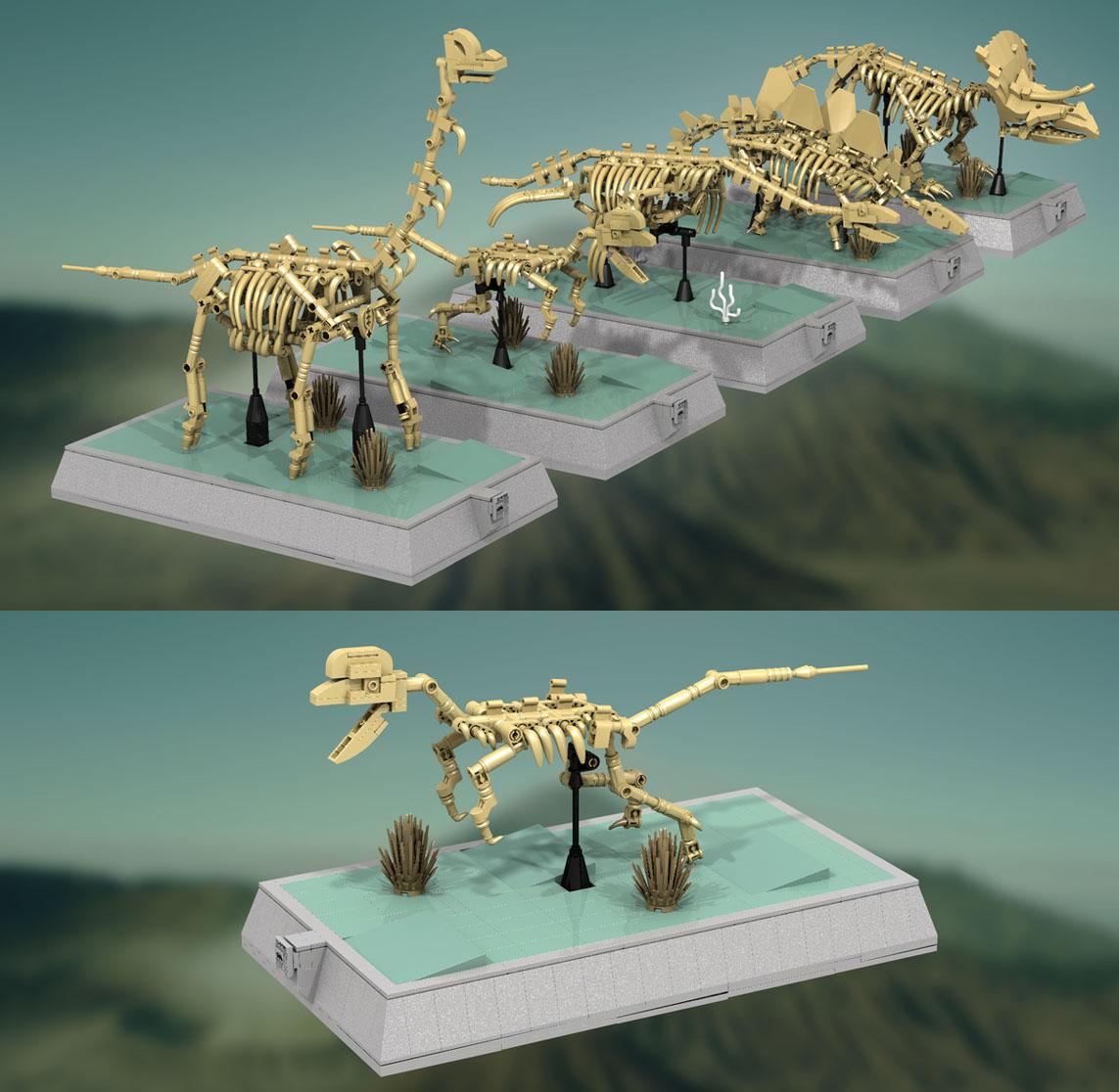 LEGOアイデア恐竜骨格標本まもなく発売濃厚