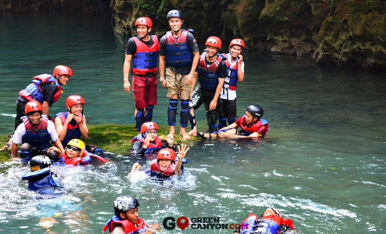 persiapan body rafting