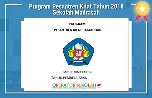 Program Pesantren Kilat Tahun 2018 Sekolah Madrasah