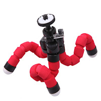 gorilla octopus polipo polpo tripod treppiedi supporto action cam video camera digitale dvr gopro hero smartphone
