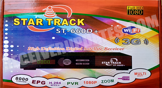 STAR TRACK ST 660D PLUS RECEIVER LATEST SOFTWARE UPDATE WITH DOLPHIN SERIES