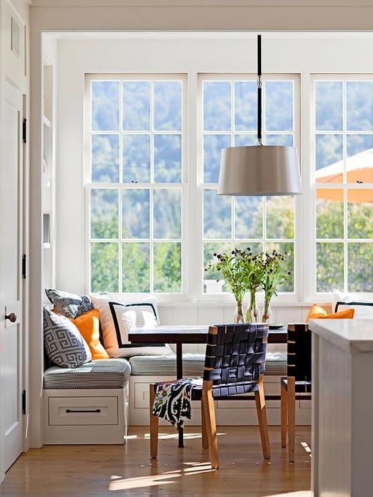 Un banco bajo la ventana ¡Ideas para vuestra casa!_15