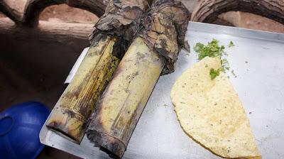 Best Bamboo Mutton Food Prepared at Jungle View Restaurant Bhubaneswar