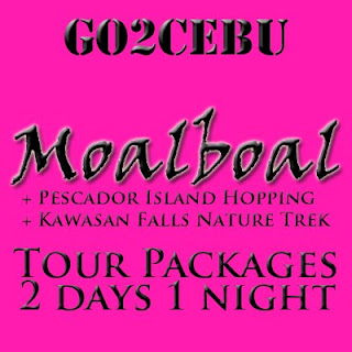 Moalboal + Pescador Island Hopping + Kawasan Falls Nature Trek in Cebu Tour Itinerary 2 Days 1 Night Package