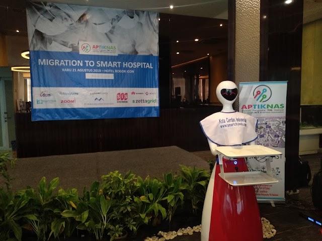 Kegiatan Seminar Migration to Smart Hospital - Bogor - 21 Agustus 2019