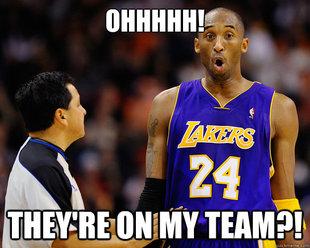 memesNBA: Kobe Bryant- Black Mamba or Ball Hog?