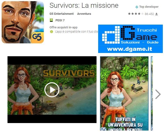 Trucchi  Survivors: La Missione Mod Apk Android v1.4.6