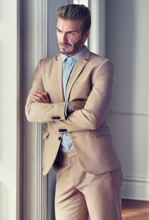 americana y pantalón traje David Beckham H&M modernos esenciales primavera verano 2016