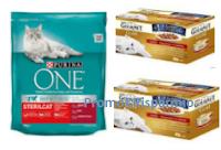 Logo ''Parlaci del tuo gatto e..'' vinci gratis forniture di prodotti Purina One