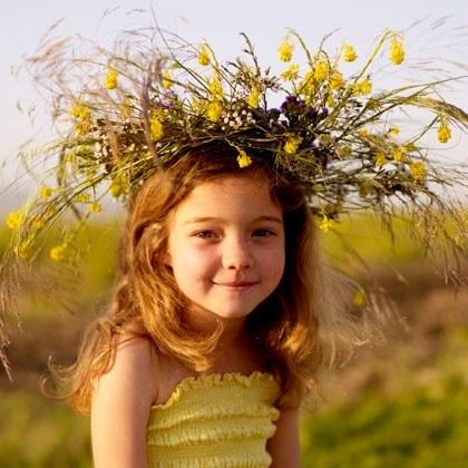 Summer Craft: Wildflower Crown