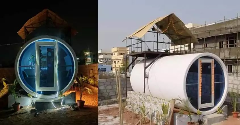 OPod, Homes from sewage pipes, Manasa Reddy