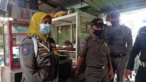 Warung Kelambu Digerebek Satpol PP Padang Panjang