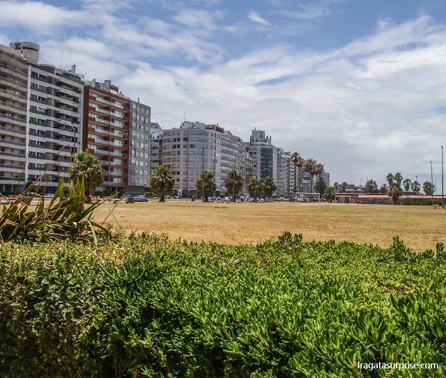 Praia de Pocitos, Montevidéu, Uruguai