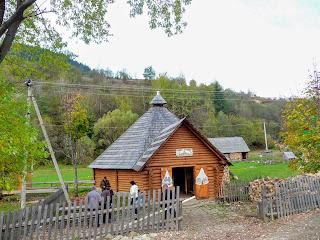 Колыба в селе Синевирская Поляна Закарпатской области