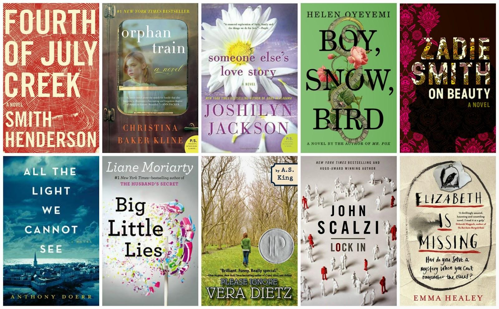 top ten tuesday book club picks