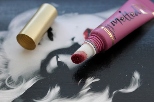 Too Faced Melted Lipstick review