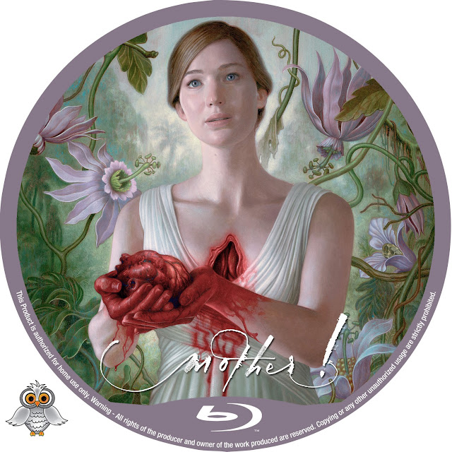 Mother! Bluray Label