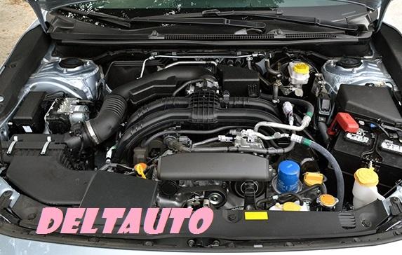 The engine of Subaru Impreza Vs Legacy