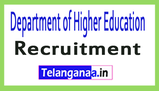 Department of Higher Education DHE Recruitment