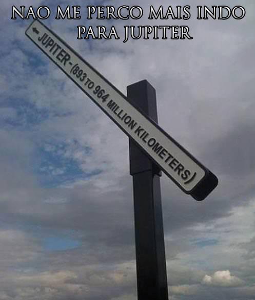 Caminho para Júpiter