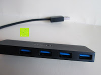 Ports: Anker Ultra Slim und Ultra Leicht 4-Port USB 3.0 Datenhub
