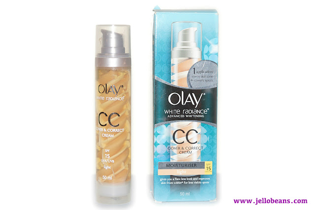 Olay White Radiance CC Cream Moisturizer w/ SPF 15 in Light