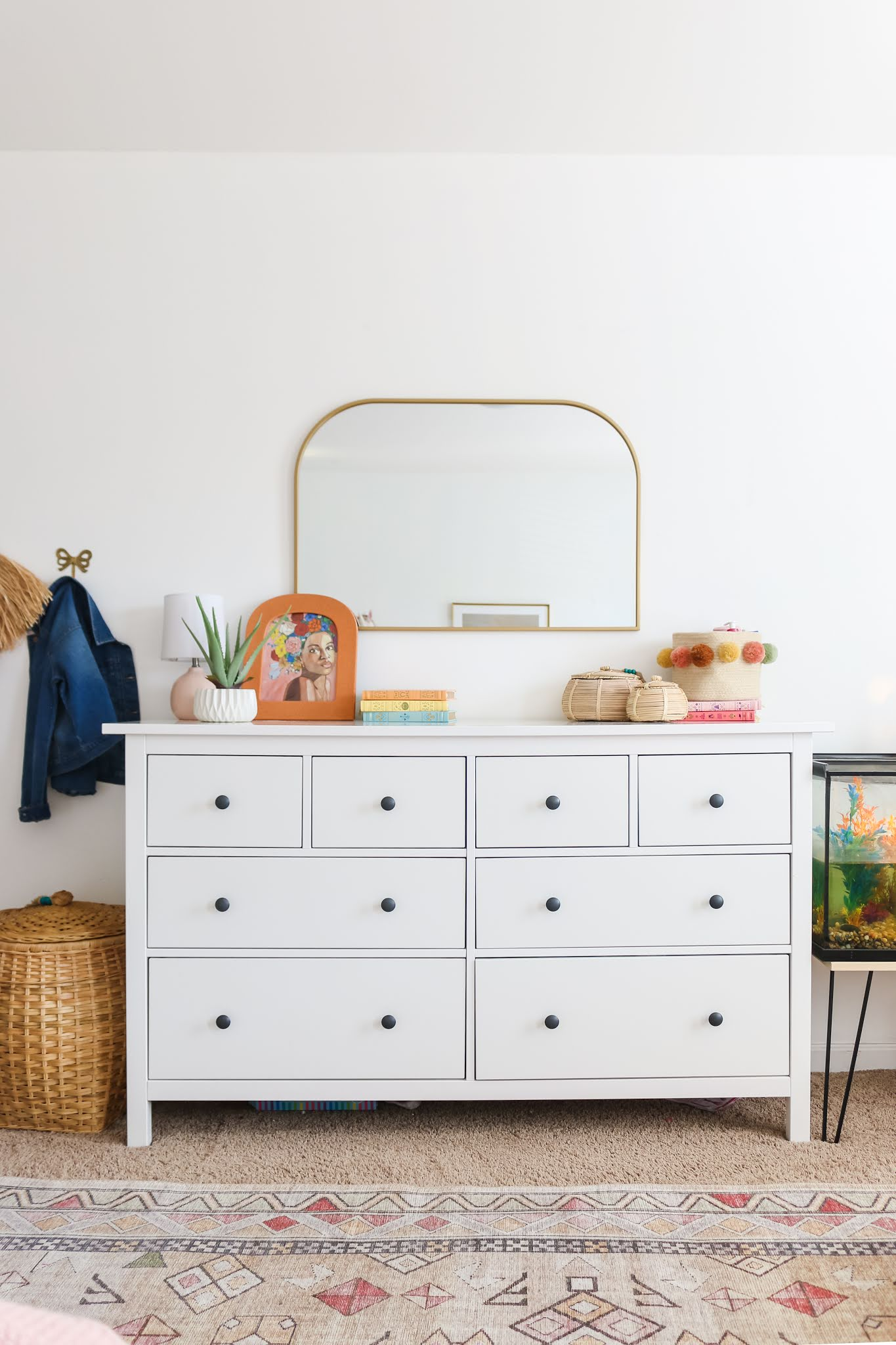 On Simplifying, De-Cluttering, and Refreshing the Girls' Room