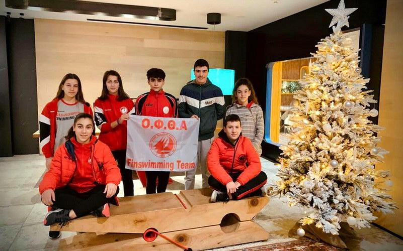 15 μετάλλια η ομάδα Τεχνικής Κολύμβησης του ΟΦΘΑ στο 2ο Χριστουγεννιάτικο Κύπελλο Ιωαννίνων