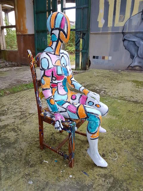 BenHeineArt - Colorful - Peinture Abstraite