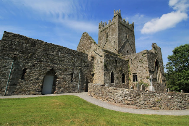 Jerpoint Abbey Side View