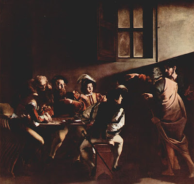 The Calling of St. Matthew, Caravaggio