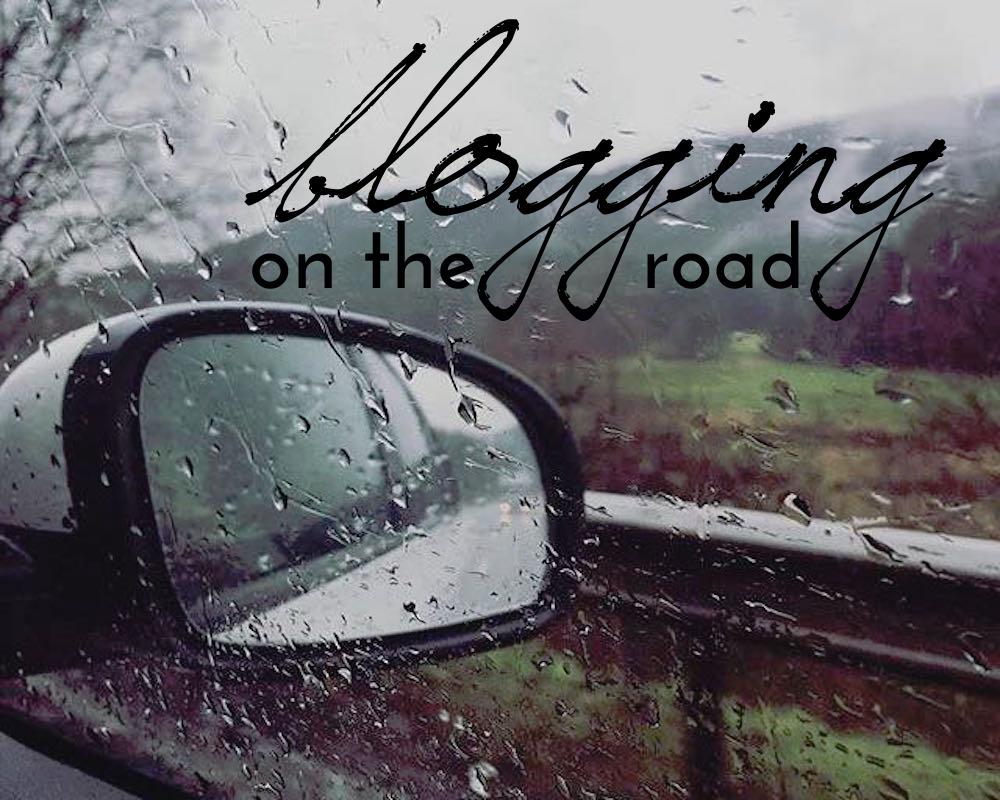 road trip blogging