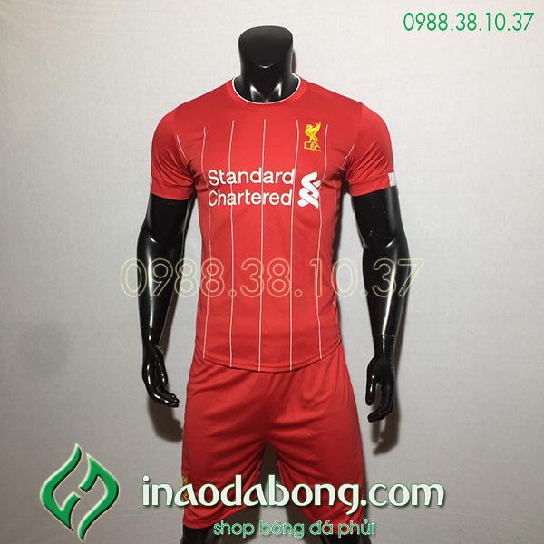 Áo bóng đá câu lạc bộ Liverpool màu đỏ 2020