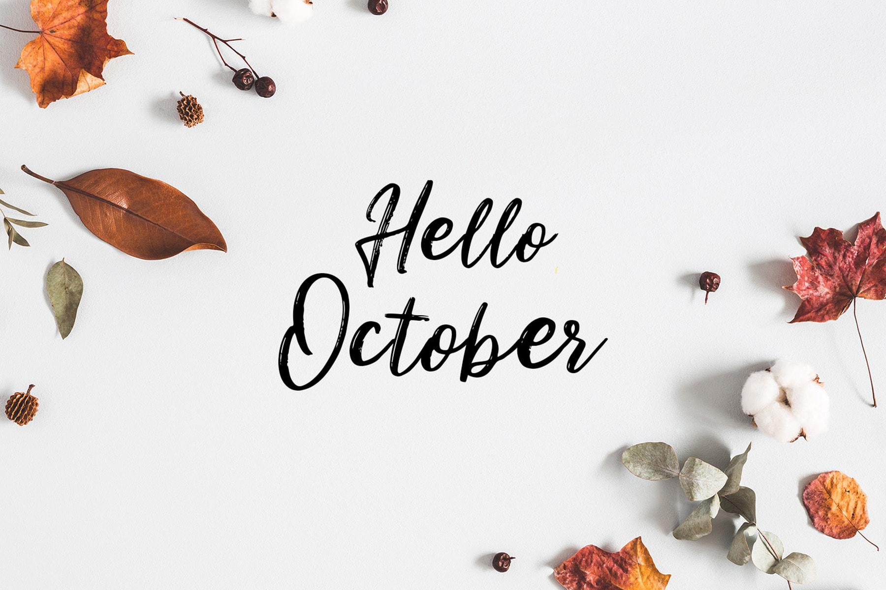 Hello Oktober! Salam Jumaat Buat Korang Semua!