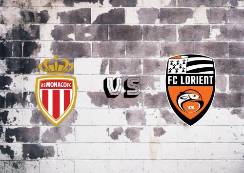 AS Monaco vs Lorient  Resumen