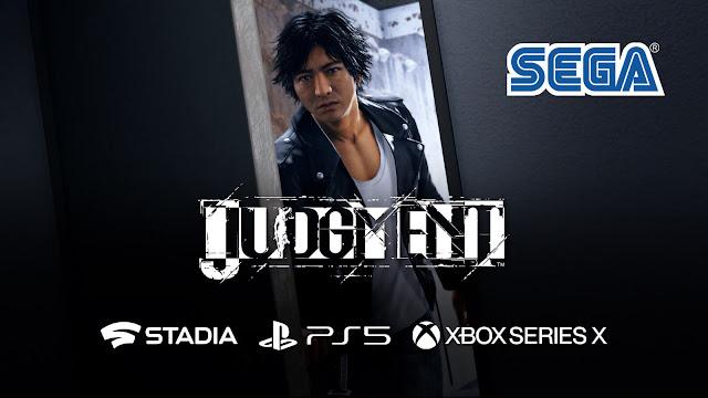 judgment ps5 google stadia xbox series x yakuza series spin-off next-gen remastered version sega ryu ga gotoku studio murder mystery game