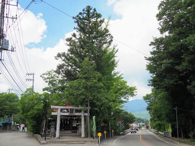 富士みち 田原神社