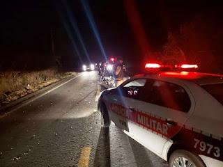 Mais um acidente com vítima fatal é registrado na estrada que liga Nova Floresta a Cuité