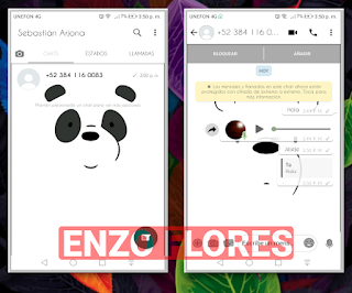 Baixar Temas YOWhatsApp - Panda