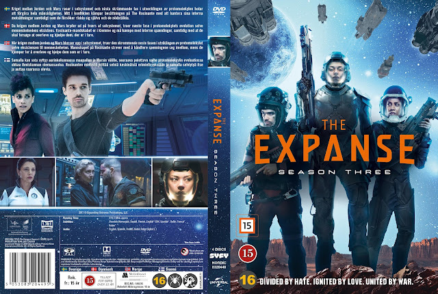 The Expanse Season 3 Nordic DVD Cover