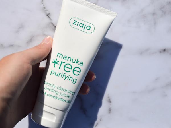 Ziaja Manuka Tree peeling paste, oily & combination skin | Review