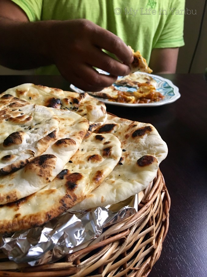 Stove-top Butter Naan | Bread Flour